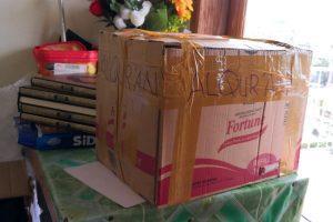 Paket 21 Mushaf Al Quran Q4 siap dikirim ke Pembeli