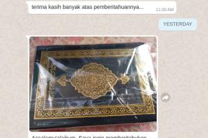 Testimoni Nita Pembeli QuranMadinah